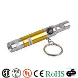 Vente chaude mini torche lumière Multi Lampe torche à LED Décapsuleur trousseau