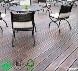 Piscina Creativedurable Deck de bambu, casca de cor