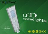 60W externe Zonne Aangedreven LEIDENE van de Verlichting Lamp met de Batterij van het Lithium