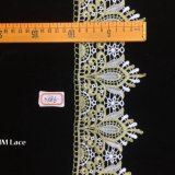 10cm Elegentのレースファブリックテュルの花嫁のレースのギピールレースのウェディングドレスの方法服ファブリックHme886のためのフランスのレースファブリック