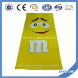 Oeko tex Standard 100 Serviette de plage imprimé personnalisé