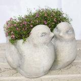 Украшение Flowerpot формы отделки гранита животное для сбывания