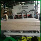 A placa de partícula, MDF, madeira compensada laminou o papel da melamina