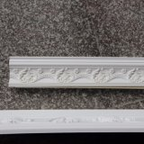 Corona tallada poliuretano de la PU del moldeado de la cornisa que moldea Hn-80116