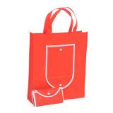 선전용 도매 싼 Foldable 비 길쌈한 쇼핑 백을 재생하십시오