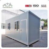 Chambre préfabriquée simple de cabine de conteneur avec la toilette et la cuisine
