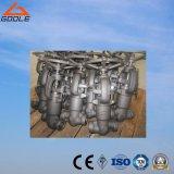 900lb/1500lb/2500lb ha forgiato la valvola di globo d'acciaio del dispositivo di tenuta a pressione (GAJ61Y)