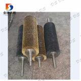 Bobine de fil enroulé en spirale acier rouleaux de préhension de brosses métalliques