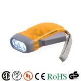 Venta caliente recargable de alta potencia LED Linterna dinamo Linterna