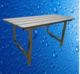 Прочная водоустойчивая табуретка места складчатости комнаты ливня нержавеющей стали