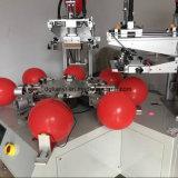 Impressora automática da tela de seda do balão de duas cores