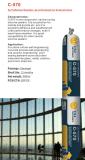 Sellante neutral del silicón del edificio de la curación para las piedras/los metales/la pared de cortina