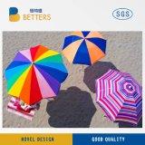 カスタマイズされたロゴの浜の日傘