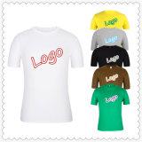 목 간결의 둘레에 인쇄하는 주문 승진 로고는 남자 t-셔츠 옷을 소매를 단다