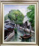 芸術家の油絵
