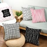 Presidenza di Cotton&Linen o ammortizzatore del sofà/cuscino quadrati 45*45cm multicolori stampati