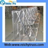 Venta caliente de moda de alta calidad de precio competitivo de aluminio plegable de Ry etapa multitud barrera