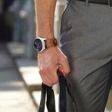 Samsung S3 악대를 위한 가장 정밀한 디자인 진짜 가죽 시계 줄