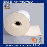 Materiale non tessuto del filtrante del tessuto di Nomex del collettore di polveri del sacchetto di filtro dell'aria