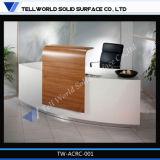 Eindeutiger Entwurfs-Empfang-Gegenuntersuchung-Schreibtisch für Büro