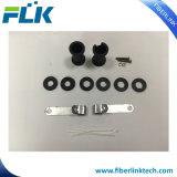 FTTX оптоволоконных сетей FTTH совместных проводов корпуса Fosc горизонтального типа 4 портов 2 в 2, дешевые