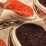 Tela 100% de Chenille del telar jacquar de Polyster de 2018 lujos para la materia textil casera