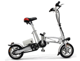 12 Polegadas Dobrável coloridos e dobragem de bicicletas de aluguer de bateria de lítio