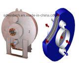 A placa e o trocador de calor do Shell