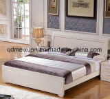 Festes hölzernes Bett-moderne doppelte Betten (M-X2338)