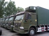 Caminhão do refrigerador de Sinotruk 13000L para o transporte