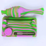 Gldg heißer verkaufender bunter KLEKS Anlage-Recycler-Becher-Unterseiten-Silikon-Wasser-Rohr-Nektar-Sammler