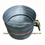 円形の鋼鉄音量調節の空気ダンパー