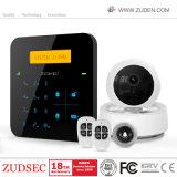 Злоумышленник WiFi дома домашней безопасности беспроводной системы охранной сигнализации GSM системы