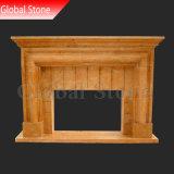 Cheminée en marbre classique pour la décoration intérieure (GSMF-204)