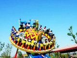 El Equipo de Parque Temático columpio giratorio Ride OVNI volando a la venta