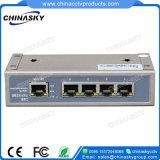 Interruptor de ponto de entrada de potência de 48V para câmaras IP Hikvision / Dahua (POE0410-2)