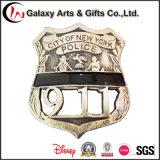 Ereignis-Abzeichen-Stiftgold des Qualitäts-Amerikaner-911 Badges /Metal-Sicherheits-Abzeichen