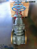 Válvulas de porão de cunha sólidas de aço fundido a granel