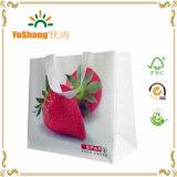 Form-bewegliche Beutel-Frucht-voller Drucken Lamianted nicht gesponnener natürlicher Beutel-Hersteller 100%
