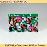 Cartão clinica Feitas com plástico para o Ambulatório de tarja magnética