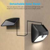 Séparables 48 Lampe solaire LED de puissance de trois modes de travail du capteur de mouvement lumière intérieure extérieure de jardin