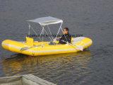 3.2 - 4.7m Kajak van de Vissersboot van de Lengte de Opblaasbare voor Verkoop met 0.9mm Koreaanse pvc of Stof Hypalon