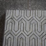 Плитка стены ванной комнаты, камень мозаики конструкции мозаики скачками