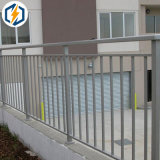 Frontière de sécurité en aluminium enduite de poudre d'OEM pour le jardin d'arrière-cour