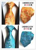 Handmade hommes cravate en soie tissée Jacquard (4/5/6)