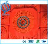 빨간 아BS 플라스틱 접히는 교통 안전 콘