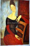 Oil Painting - Modigliani 1