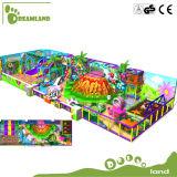 As crianças de plástico Preço Razoável boa venda equipamentos de playground coberto