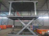 Plataforma doble del elevador del coche de la cubierta 3000kg para el estacionamiento