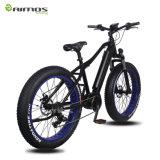 Bicicleta eléctrica central del motor impulsor del neumático gordo eléctrico de la bici de la suciedad